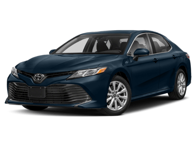 2020 Toyota Camry in blue