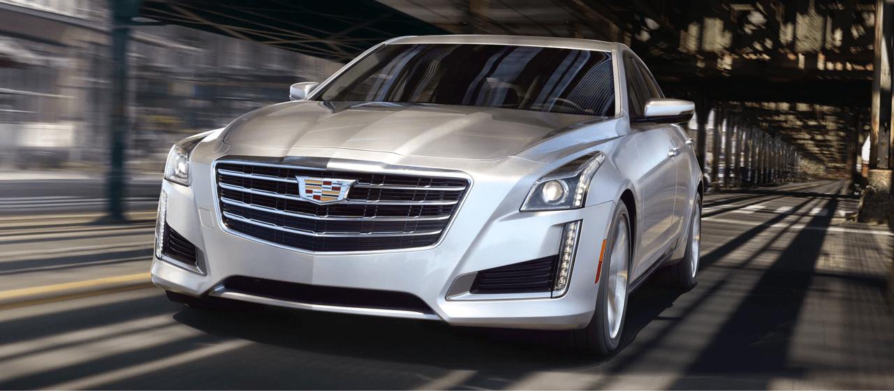 2019 Cadillac CTS driving