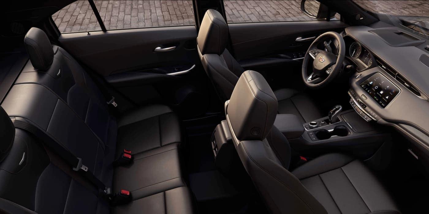 2020 Cadillac XT4 interior passenger volume