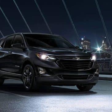 2020 Chevy Equinox At Night