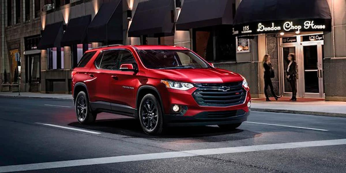 2020 Chevrolet Traverse driving