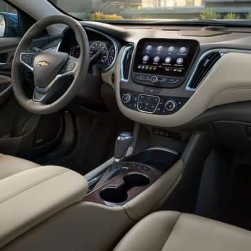 2020 Chevy Malibu Dash