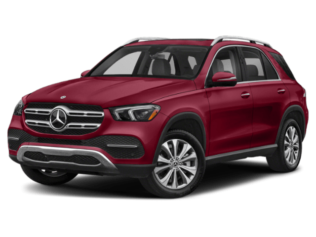 2020 Mercedes-Benz GLE in burgundy
