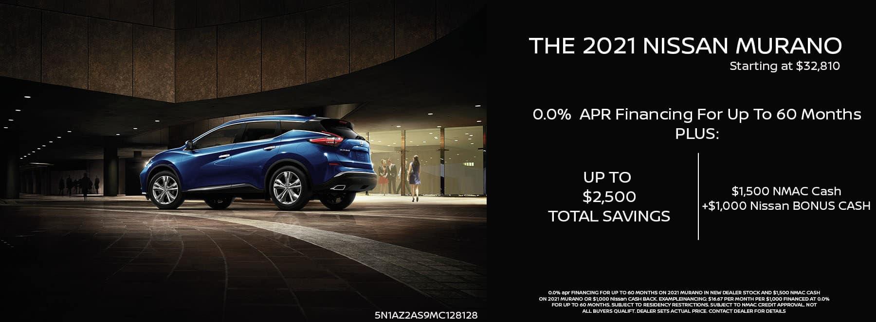 2021 Nissan Murano Banner September copy