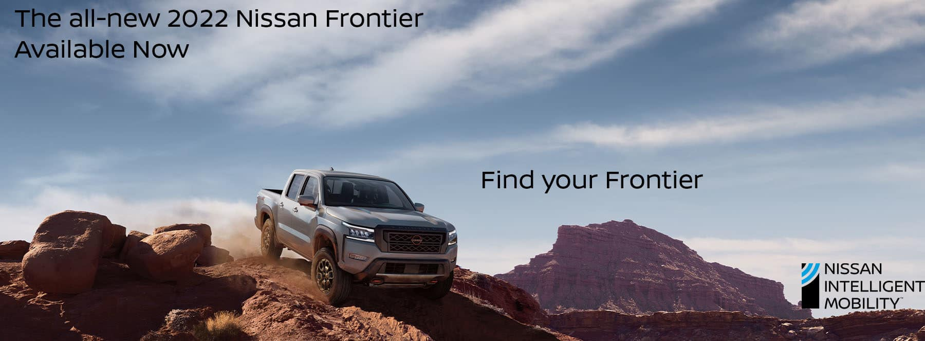 Nissan Frontier Call to Action copy
