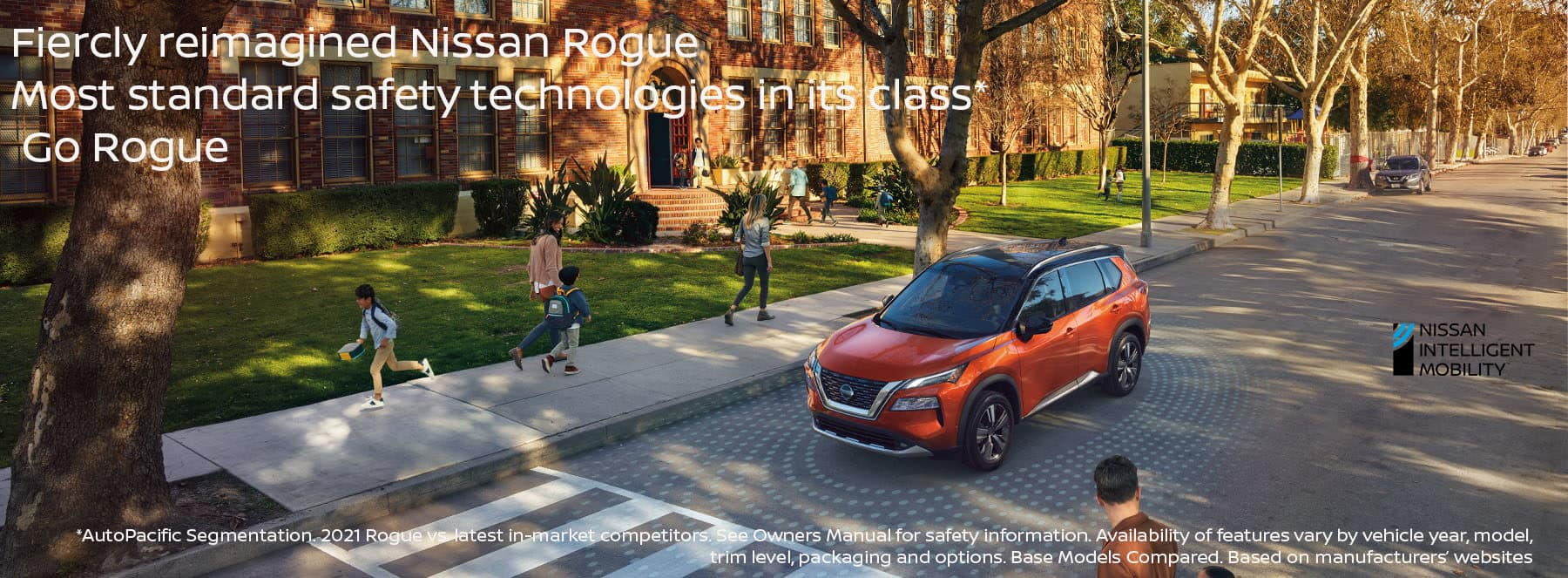 Nissan Rogue Call to Action copy