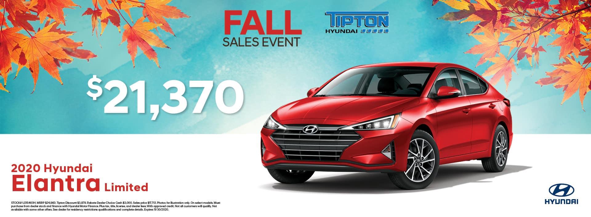 Tipton Hyundai | Hyundai Elantra | Toronto, ON