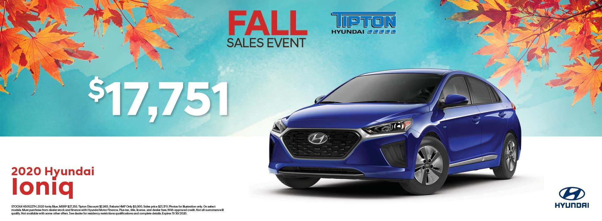 Tipton Hyundai | Hyundai Ioniq | Toronto, ON