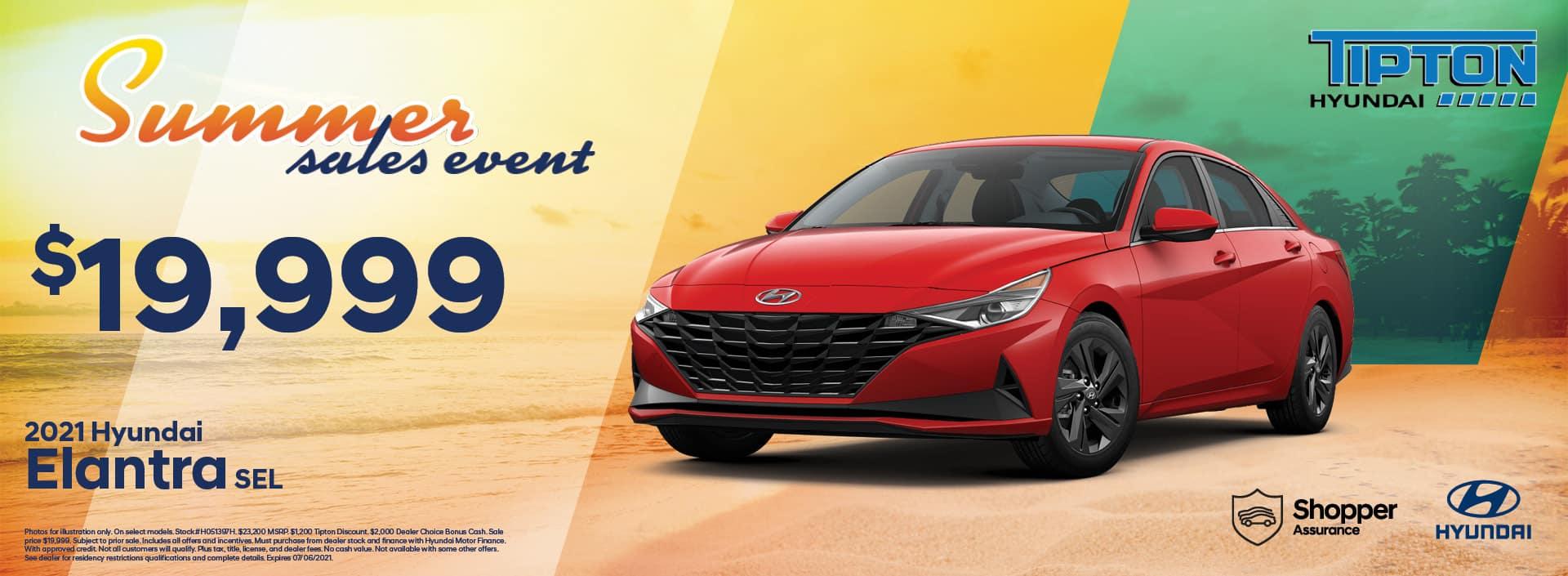2021 Hyundai Elantra | June Specials | Brownsville, TX
