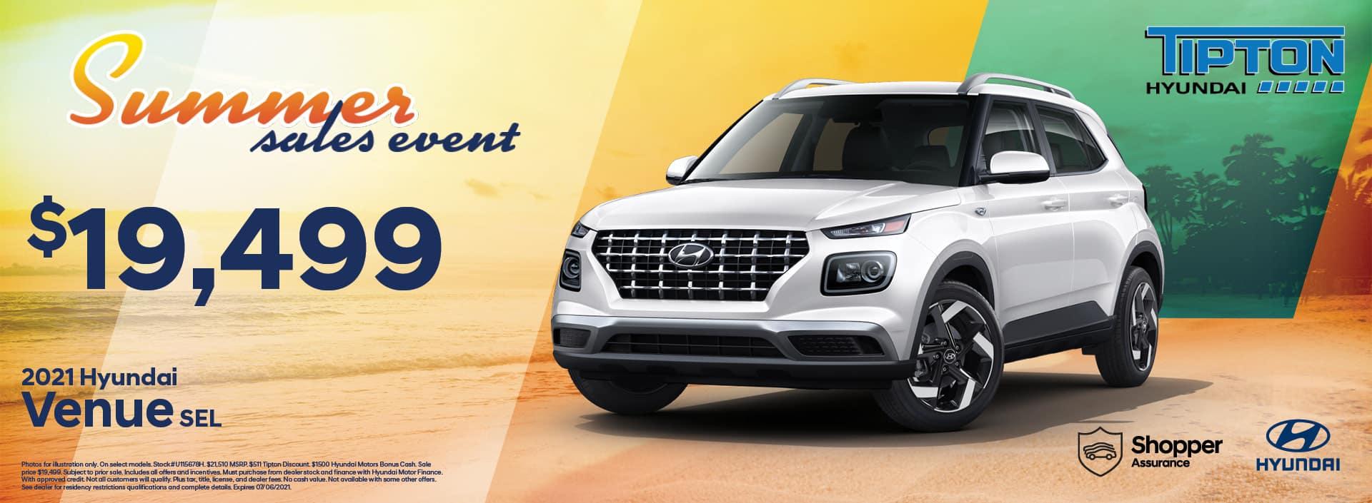 2021 Hyundai Venue | June Specials | Brownsville, TX