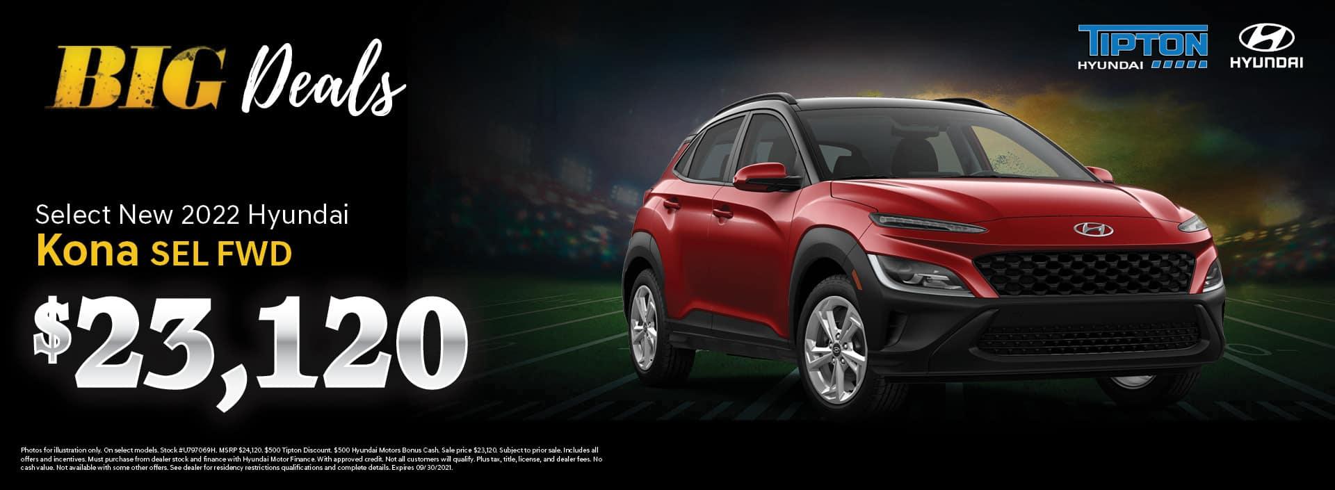 2022 Hyundai Kona - Brownsville, TX