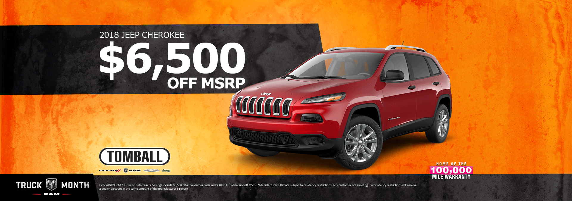 Jeep Dealership Houston >> All New Dodge, Chrysler, and Jeep Specials | Tomball Dodge