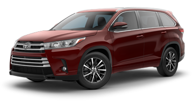 2018 Toyota Highlander XLE No Money Down Lease