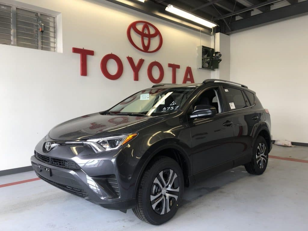 2018 Toyota Rav4 LE AWD, No Money Down Lease Offer