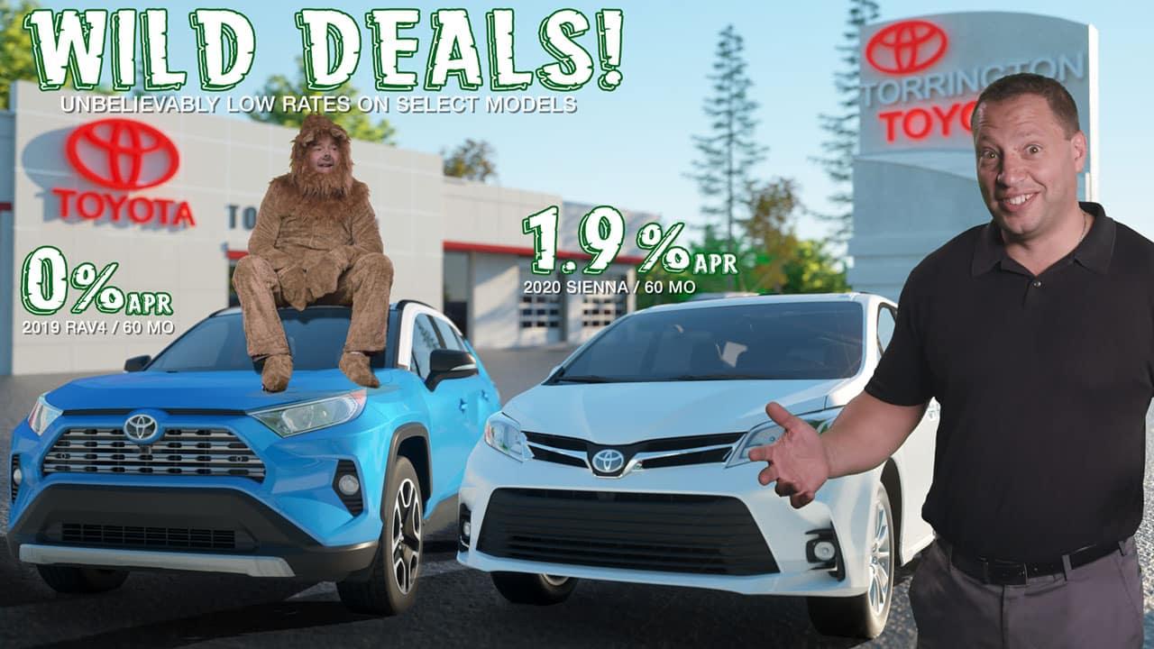 September 2019 Finance Rate Deals RAV4 Sienna Toyota