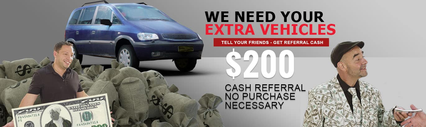 Dave and Danny present their $200 referral fee offer