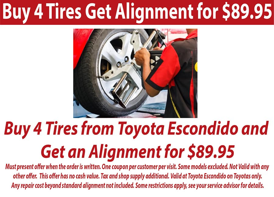 Tire and alignment specials near me