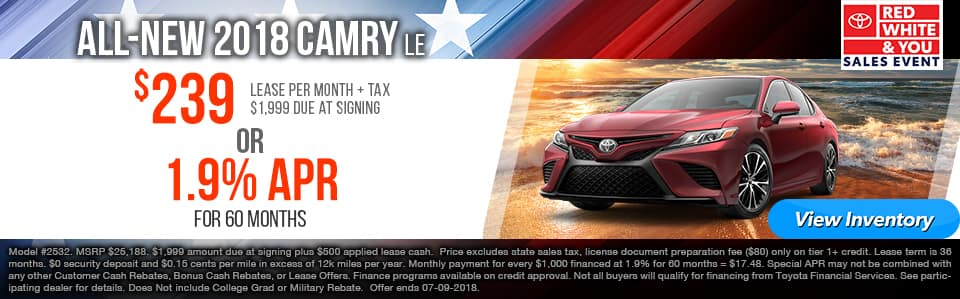 june camry le