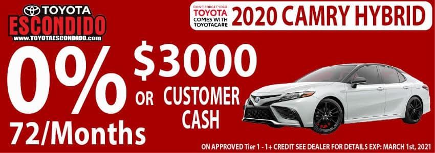 2020 Camry Hybrid