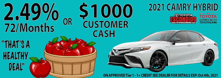 9.13.21 Camry Offer