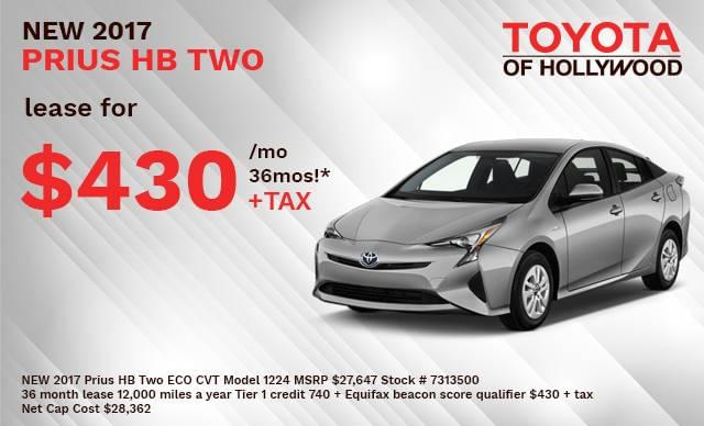 NEW 2017 Prius HB Two ECO CVT Model 1224