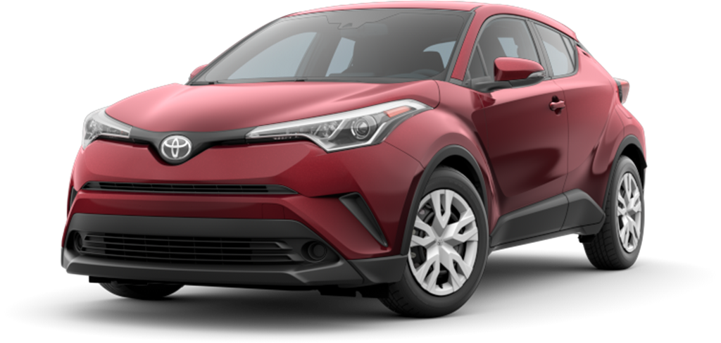 New 2019 Toyota C-HR LE FWD Model 2402