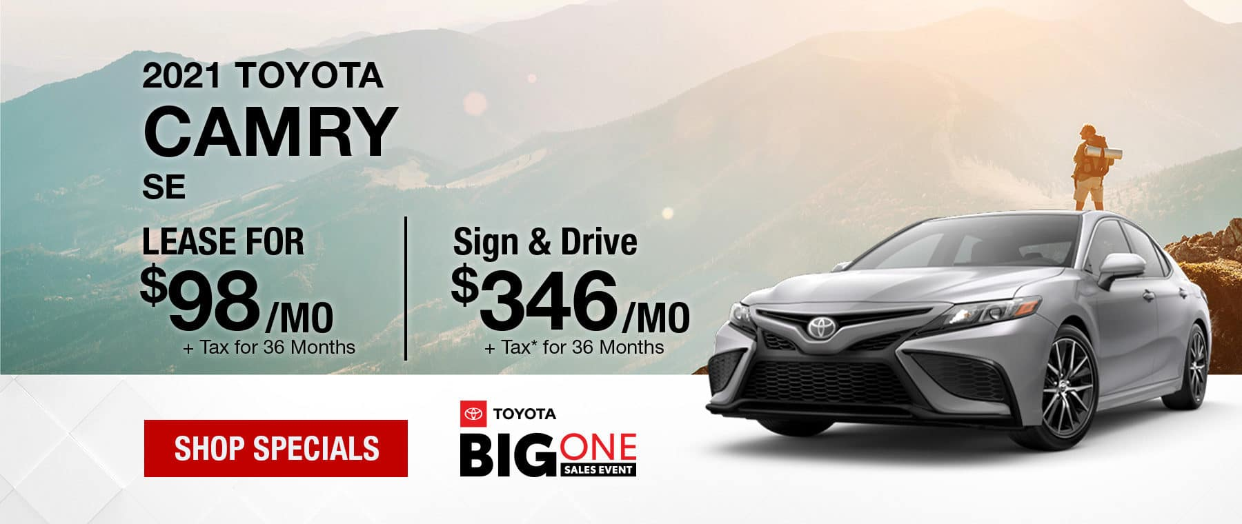 2021 Toyota Camry Banner