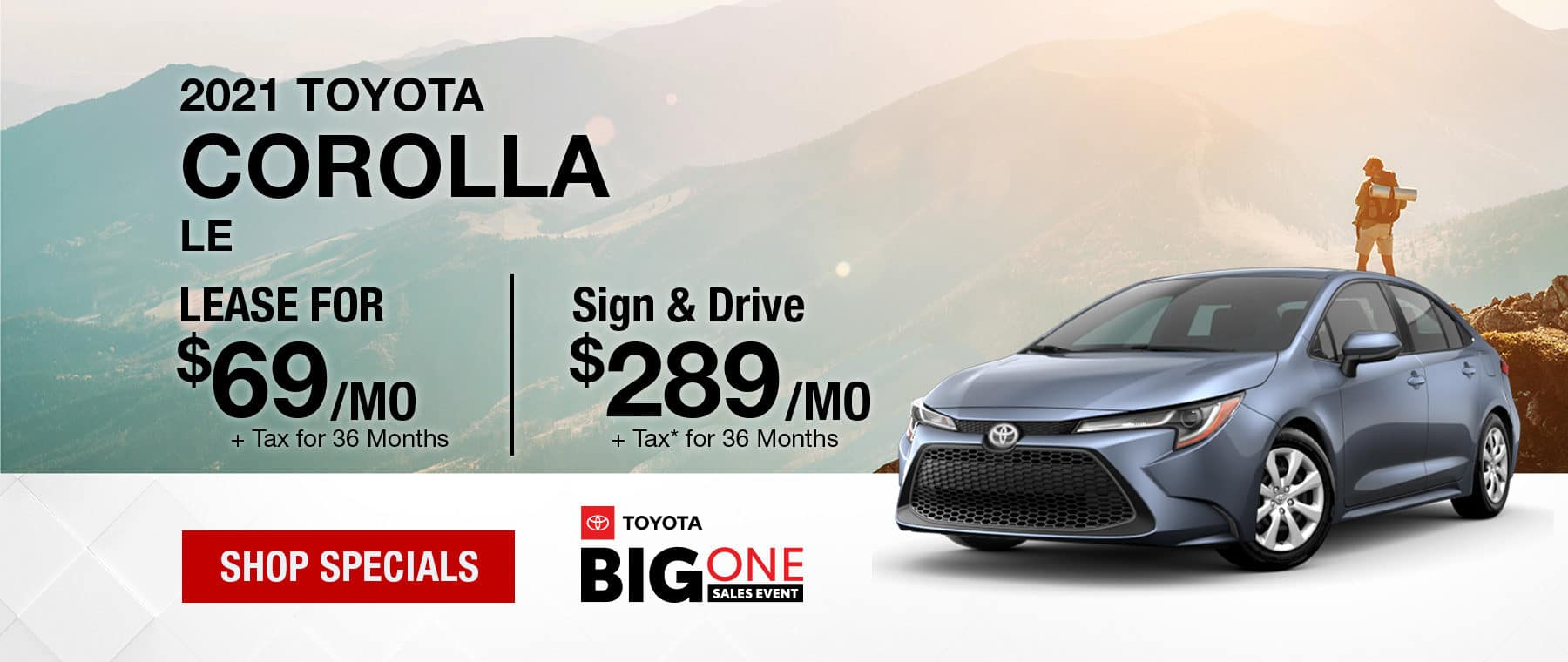 2021 Toyota Corolla Banner