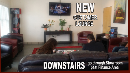 New Customer Lounge