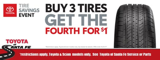 Buy 3 get 1 tires for $1