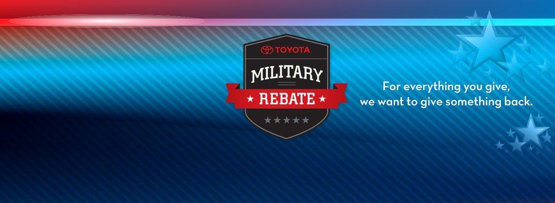 military-rebate-program