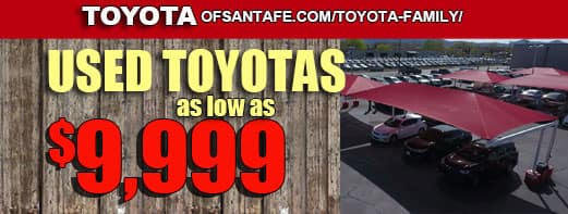 USED TOYOTAS 9999 TRUCK MONTH