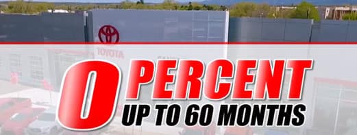 0% up to 60 months