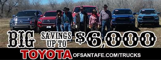 Save $6000 on trucks truck month
