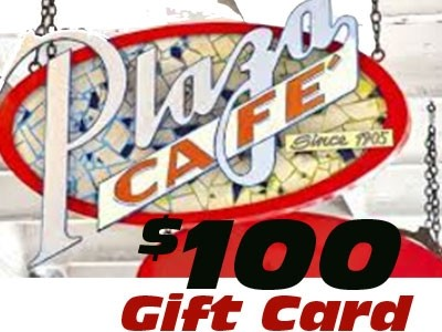 Plaza Cafe $100 gift Card