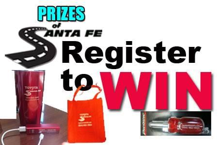 Register To Win TSF Prizes
