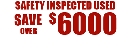 Save over $6000 on Used