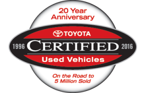 20 Years of Certified Toyotas