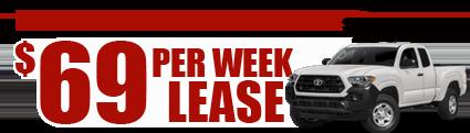 New 2017 4wd Taooma $69/week