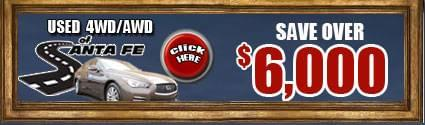 Save over $6000 on 4wd and Awd Vehicles