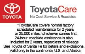ToyotaCare with Disclaimer