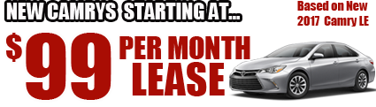 New Cars starting at $99/month