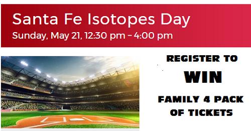 Santa Fe Day at the Isotopes May 21