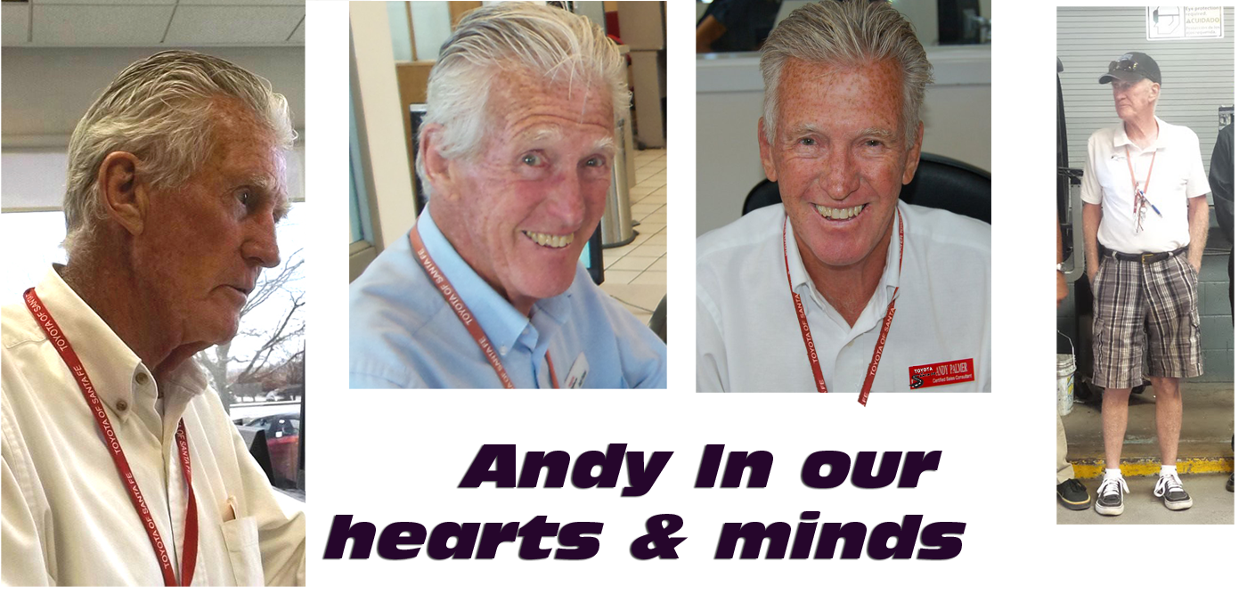 Andy in our hearts