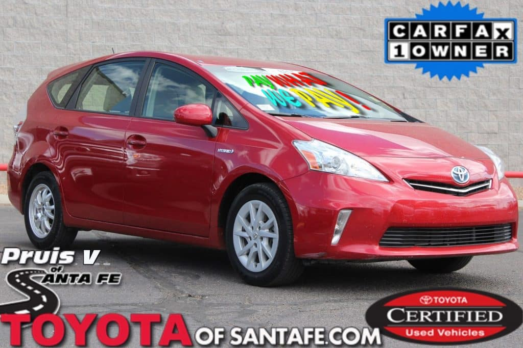 Certified Pre-Owned 2014 Toyota Prius V Three With Navigation E3306703T
