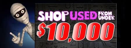 Under $10,000