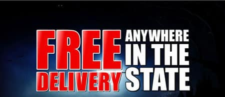 Free Delivery AnyWhere in the State Halloween