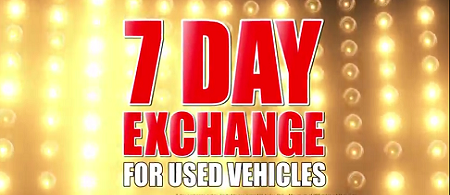 Buddy Plan 2 is the 7 day exchange for used vehicles