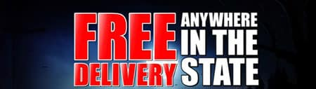 Free Delivery Anywhere in the state