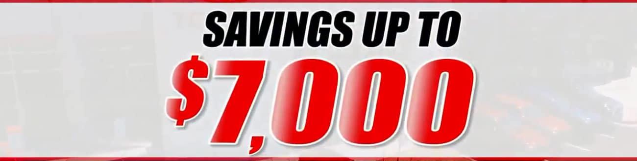 Save $7000